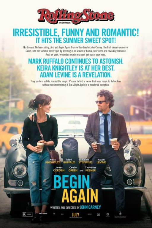 Can a Song Save Your Life? - Begin Again (2013) (Rating 7,5) DVD8306