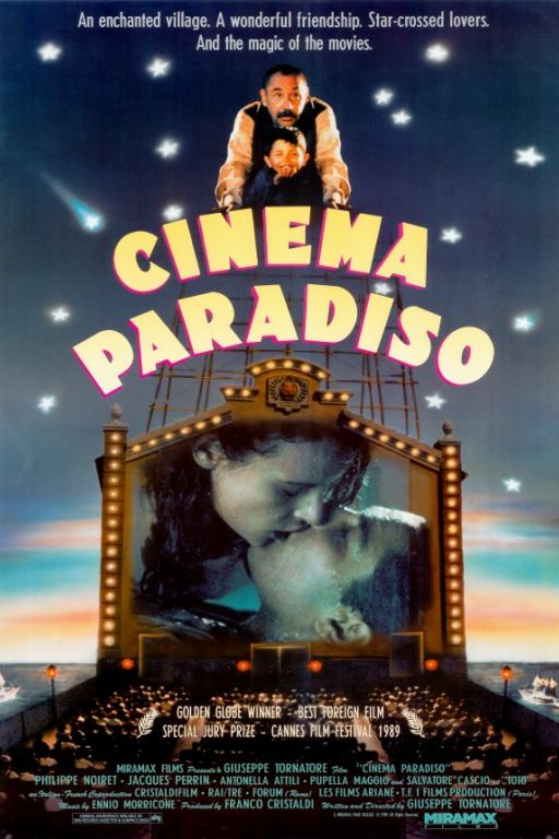 Cinema Paradiso (1988) (Rating 8,5) DVD1768