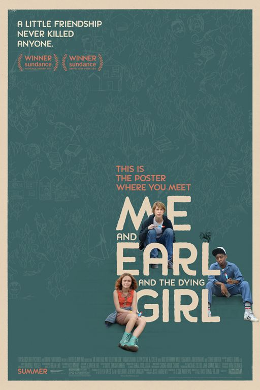 Ich und Earl und das Mädchen - Me And The Dying Girl (2015) (Rating 8,2) (OmeU) DVD6388