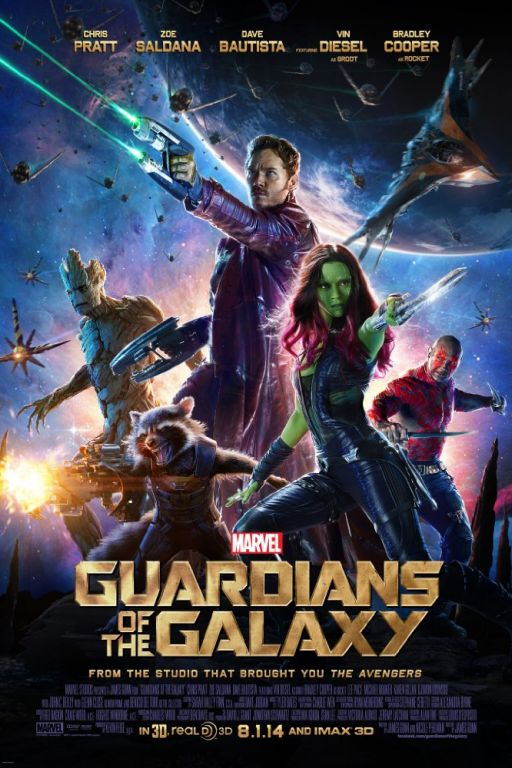Guardians of the Galaxy (2014) (Rating 8,0) DVD4372 + Guardians of the Galaxy Vol. 2 (2017) DVD10097