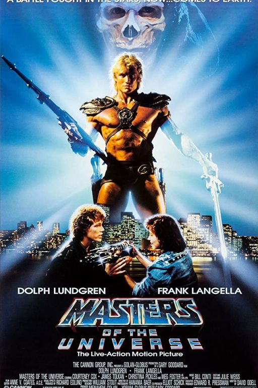 Masters of the Universe (1987) (Rating 6,5) DVD-