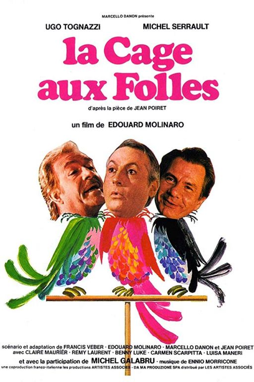 The Mad Cage - Ein Käfig voller Narren - La cage aux folles (1978) (Rating 7,5) DVD1438