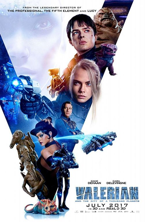 Valerian and the City of a Thousand Planets (2017) (Rating 8,0) DVD10.056