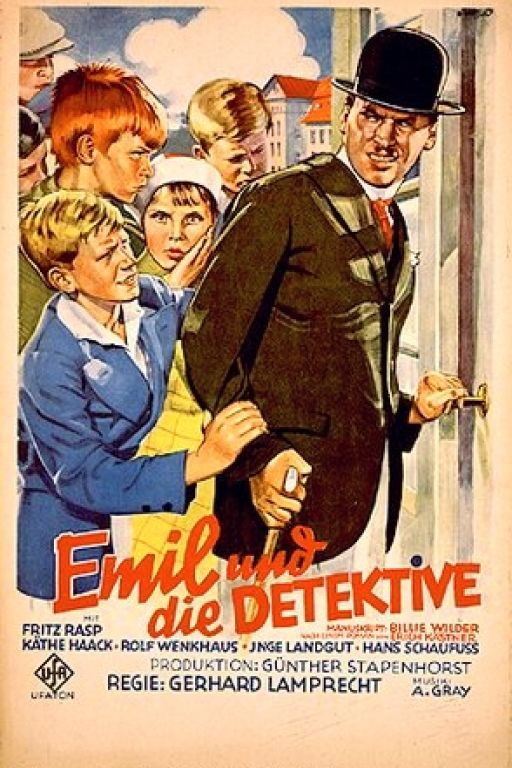 Emil and the Detectives - Emil und die Detektive (1931) (Rating 8,0) DVD7535