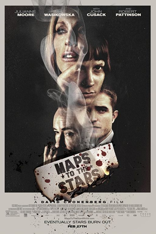 Maps To The Stars (2014) (Rating 7,5) DVD8504