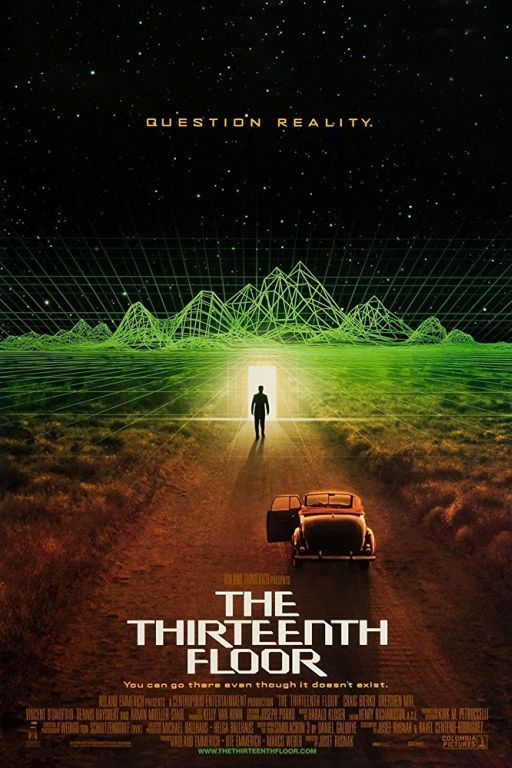 The 13th Floor - The Thirteenth Floor (1999) (Rating 6,9) DVD7009