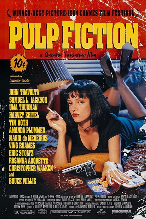 Pulp Fiction (1994) (Rating 8,5) DVD559