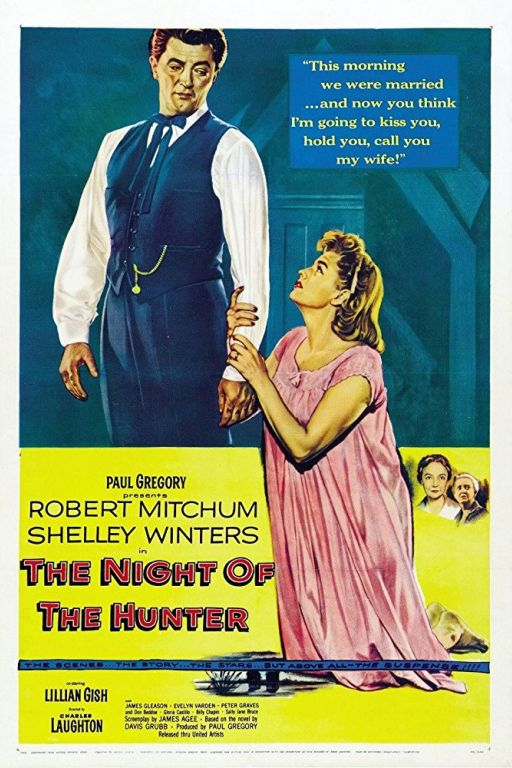 Die Nacht des Jägers - The Night of the Hunter (1955) (Rating 9,0) DVD2174