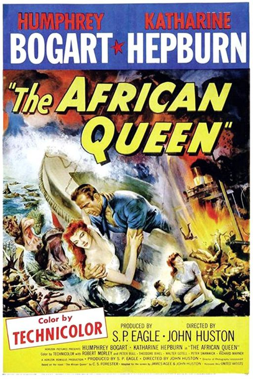 The African Queen (1951) (Rating 8,5) DVD573