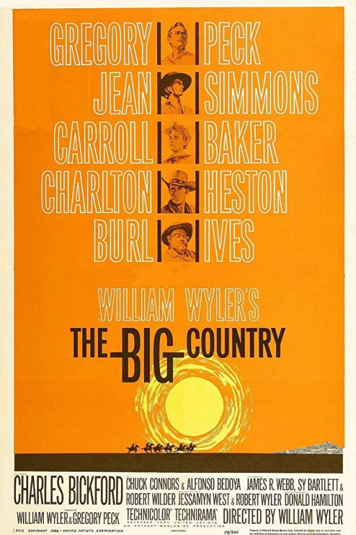 Weites Land - The Big Country (1958) (Rating 8,0) DVD -